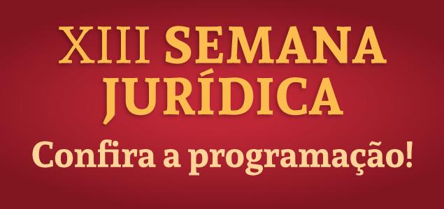 Banner Semana Jurídica 2016
